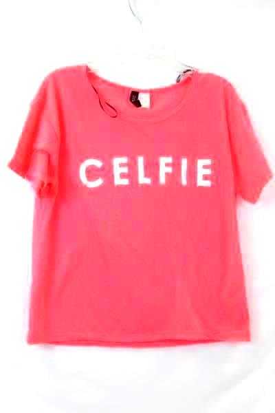 Divided H&M Pink and White Crop Top Size S