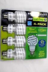 OttLite ED15-S-FFP 15W Edison-Based Swirl Bulb OttLite Technologies