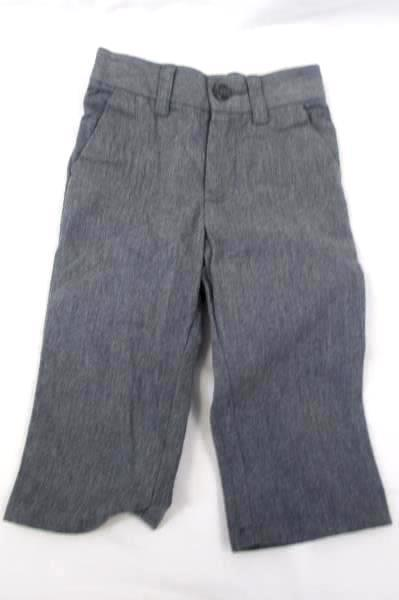 Cherokee Lot of 2 Boys Dress Pants Gray Grey Straight Leg Size 12 Months