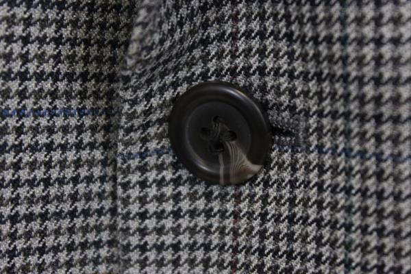 Moores Suit Blazer Grey Gray w/Black Spots Men's Size 42R