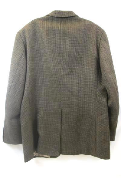 Ralph Lauren Men's Suit Jacket Brown w/Black Spots Size 42R