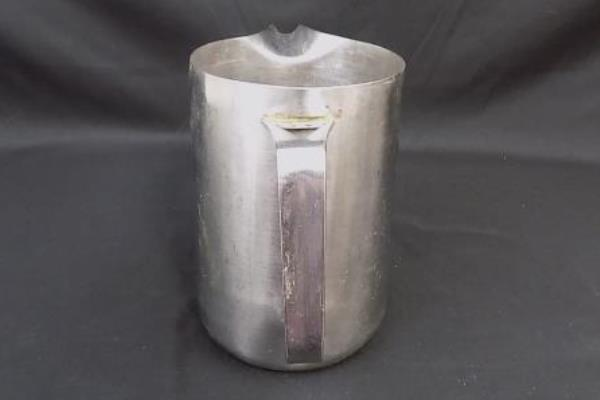 Vintage Stainless Steel Pitch 1 Quart Tableware Cafe Entertaining