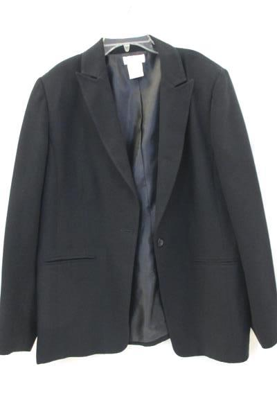 Worthington Women's Suit Jacket Black Size 14