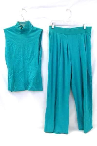 IndyGo Kenar Women's Lot: Shirts & Pants Turquoise Women's Size M