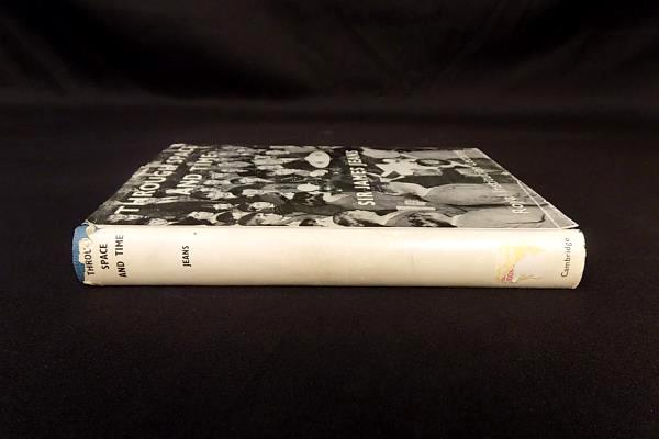 RARE Vintage 1949  Illustrated HB DJ THROUGH SPACE & TIME by Sir James Jeans