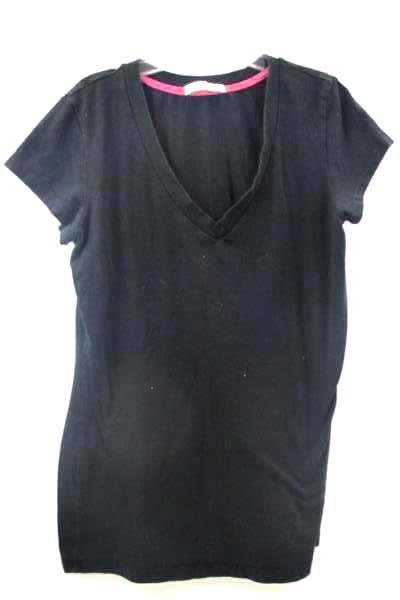 Femme Women's Black Short Sleeve Shirt Size L