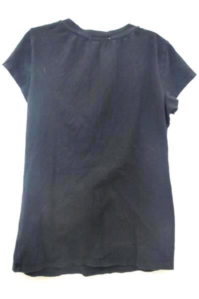Femme Women's Black Short Sleeve Shirt Size L