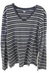 Top by Great Northwest Long Sleeve Striped Women's Size L