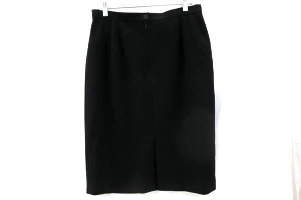 Jones New York Women's Skirt Solid Black Size 12