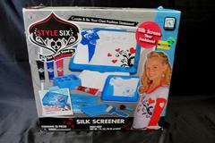 Jakks Pacific Silk-Screener Style-Six NonToxic Panting Screen Roll Brush