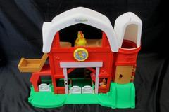 Little People Kid's Toy Farm Set w/ Farmer;Tractor & Chicken Multiple Colors