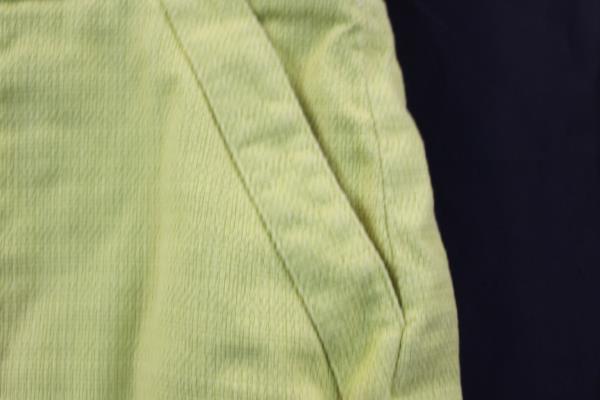 Loft Women's Yellow Pencil Short Skirt w/Pockets and Zipper Size 8
