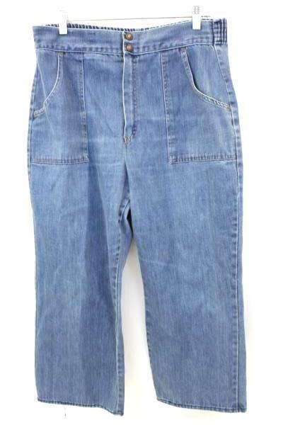 Woman's Elastic Waist Jeans By Jeans That Fit Women's Size 16