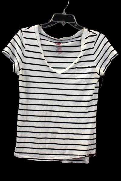 Lot of 2 Sonoma Life and Style & OP Women's Tops Solid and Striped Size L