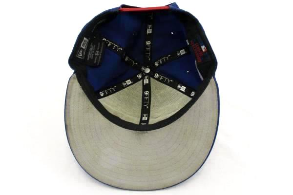 Philadelphia Phillies Blue 9Fifty Snapback Baseball Hat New Era Small to Medium