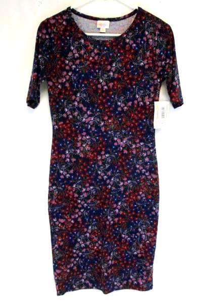 Women's Dress by LuLaRoe Multi Colored Floral Dress Size XS