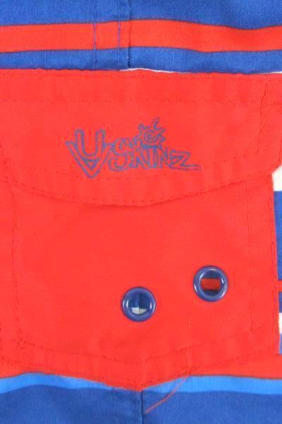 Boys Swim Trunks Size 3T Red, White & Blue UV Skinz Shorts