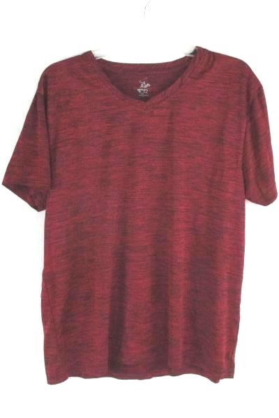 Men's Red Beverly Hills Polo Club Shirt Size Large