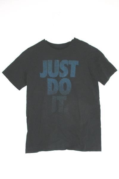 NIKE Kids Youth Just Do It Blue Shirt Size Large