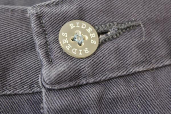 Riders Pants Casuals Dark Blue Khakis Cuffs Women's Size 10L