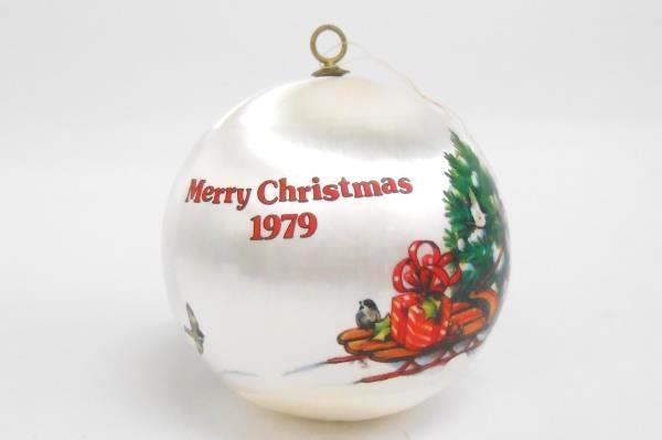 1979 Teacher Dated Satin Hallmark Ornament Christmas for a Special Teacher