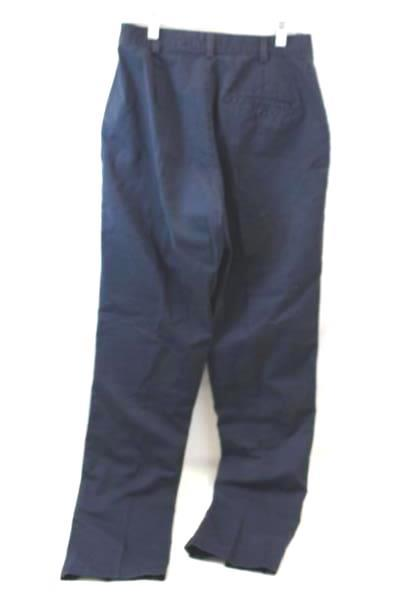 Dockers Pants Dark Blue Flat Front Khakis Men's Youth Size 10 x 33