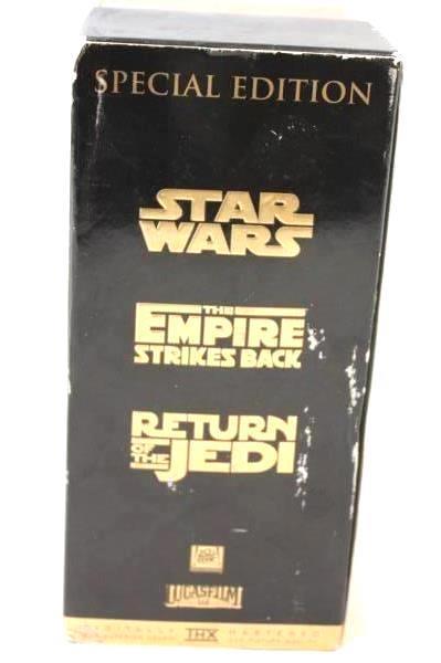 Star Wars Trilogy VHS Special Edition Box Set 1997 Twentieth Century Fox