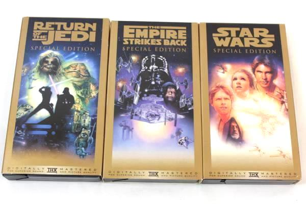 Star Wars Trilogy VHS Special Edition Box Set 1997 Twentieth Century Fox