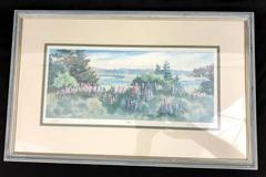 "Sandra Priest ""Lupines"" Print Signed by the Artist 11/250"