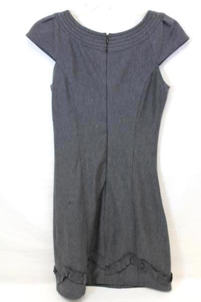 Dress by Sequin Hearts Solid Gray Women's Size 3