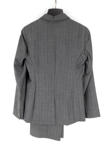 Gray Striped 2pc Career Pant Suit ~ Blazer Sz 4 / Pants Sz 6 ~ OSCAR DE LE RENTA