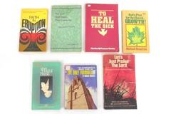 Lot of 7 Religious Christian Paperback Books Inspirational Self Help