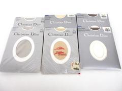 6 x Vtg CHRISTION DIOR Ultra Sheer Panty Hose Diorissimo 3 Colors Sz 2/3 NEW