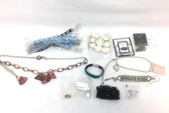 Lot of Miscellaneous Jewelries ~Earrings, Bracelets, Necklaces, Pins