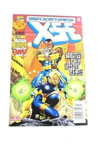 Lot of 3 X.S E - X Men Comic Books With Two #2 and One #3