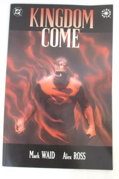 3 Kingdom Come DC Comics w/Never Ending Battle, Truth&Justice, Up in The Sky