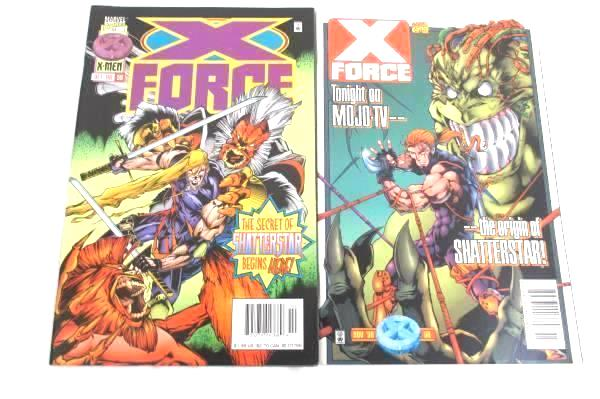 Lot of 2 Marvel Comics ~Featuring The X-Force