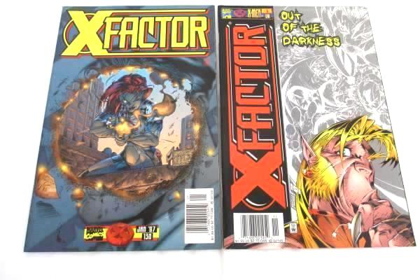 Lot of Two Marvel Comic Books X-Men ~Featuring X-Factor