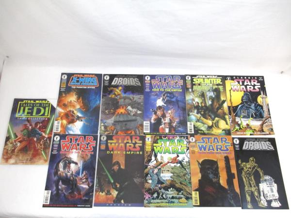 Lot of 11 Dark Horse Comics ~Featuring Star Wars