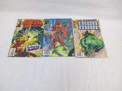 Lot of Three Marvel Comic Books ~Featuring Iron Man