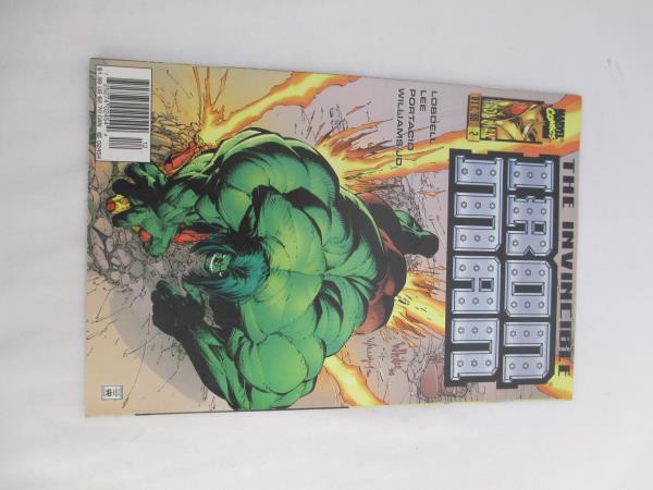 Lot of Three Marvel Comic Books ~Featuring Iron Man