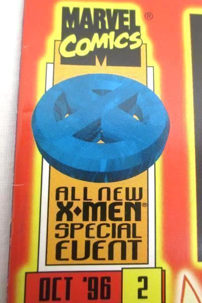 Lot of Two Marvel Comic Books Featuring X-men Pryde and Wisdom