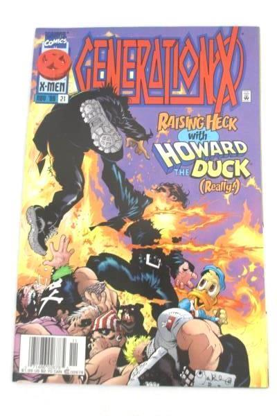 Lot of 3 Marvel Comic Books Featuring X-men Generation-X