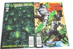 Lot of 2 DC Comic Books Featuring Green Lantern