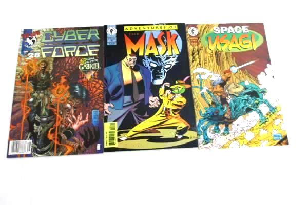 Lot of 3 Dark Horse and Top Cow Comics Featuring an Assortment of Stories
