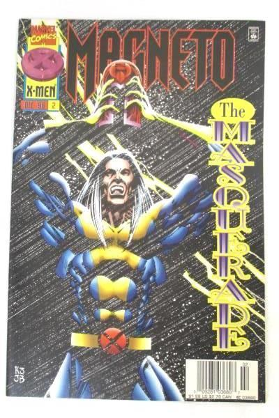 Lot of 2 Marvel Comics Featuring X-men Magneto