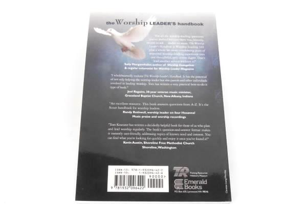 Tom Kraeuter The Worship Leader's Handbook Paperback Expanded Edition