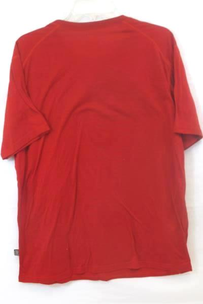 """Men's Graphic T-Shirt Red """"True Game Changer"""" By D1 RTS Size Large"""