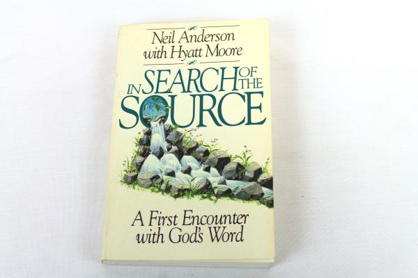 1992 In Search of the Source: A First Encounter w/ God's Word Anderson Moore PB