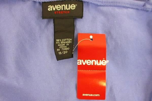 Lot of 2 Women's Outfit Avenue Stretch Tank Black Apostrophe Skirt Sz 18/20 Tags